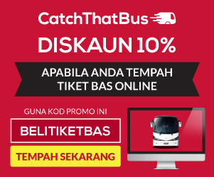 CatchThatBus 10% Diskaun