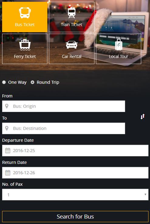 Delima Express Online Tiket