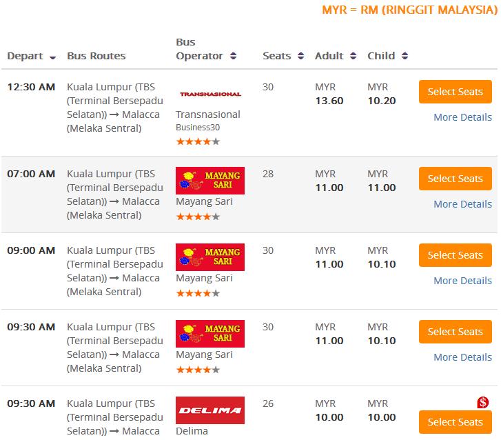 Delima Express Online Tiket | Tiket Bas Online & KTM Online