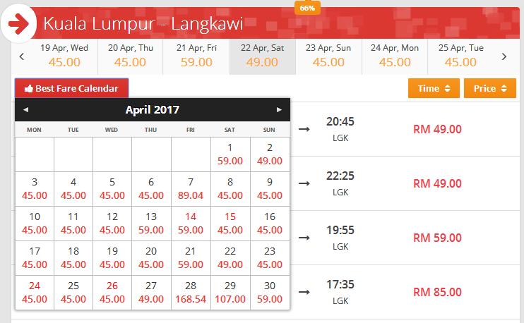 Harga Tiket Kapal Terbang Ke Langkawi Tambang Murah Tiket