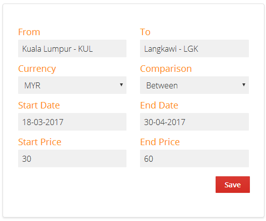 Airpaz Price Alerts