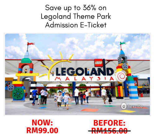 Legoland Malaysia Cheap Ticket Deal