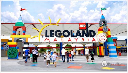 Taman Tema Legoland Diskaun