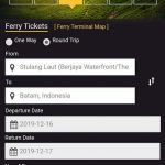 Ferry Tickets from JB to Batam